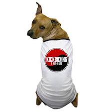 KICKBOXING Way Of Life Yin Yang Dog T-Shirt