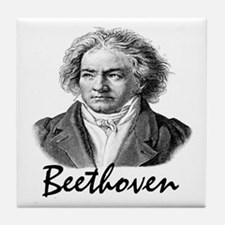 Beethoven Tile Coaster