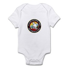 Glacier National Park Montana Infant Bodysuit