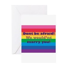 Dont Be Afraid Greeting Card