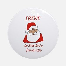 Irene Christmas Ornament (Round)