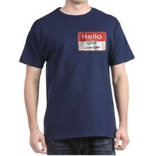 Hello, My name is Great Grandpa T-Shirt