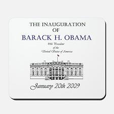 Obama Inauguration Mousepad