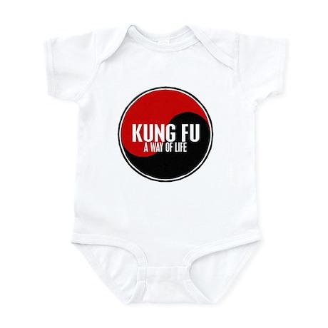 KUNG FU Way Of Life Yin Yang Infant Bodysuit
