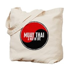 MUAY THAI Way Of Life Yin Yang Tote Bag