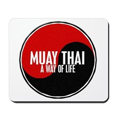 MUAY THAI Way Of Life Yin Yang Mousepad