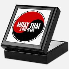 MUAY THAI Way Of Life Yin Yang Keepsake Box