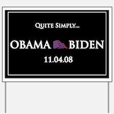 oddFrogg OBAMA BIDEN Yard Sign