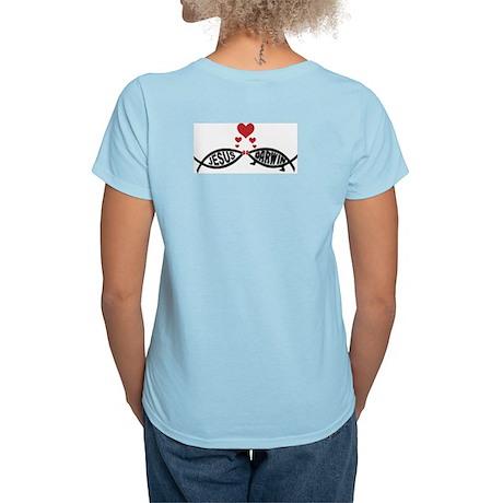 Jesus Loves Darwin Women's Light T-Shirt