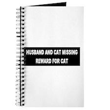 Husband & Cat Missing... Journal