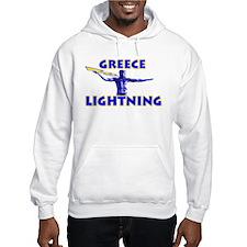 """Greece Lightning"" Hoodie"