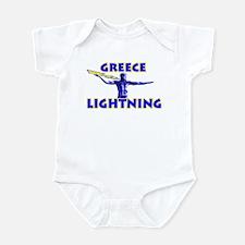 """""""Greece Lightning"""" Infant Bodysuit"""