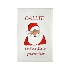 Callie Christmas Rectangle Magnet