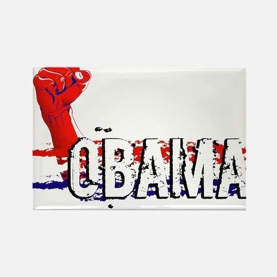 Obama Rocks. Rectangle Magnet