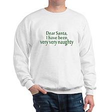 Naughty Santa Sweatshirt