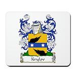 Krylov Family Crest Mousepad