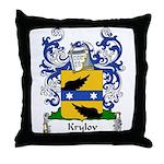 Krylov Family Crest Throw Pillow