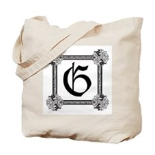 "Medieval British design Tote Bag ""G"""