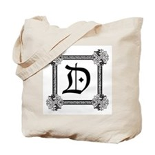 "Medieval British design Tote Bag ""D"""