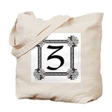 "Medieval British design Tote Bag ""Z"""