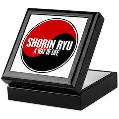 SHORIN RYU Way Of Life Yin Yang Keepsake Box