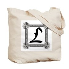 "Medieval British design Tote Bag ""L"""