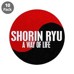 SHORIN RYU Way Of Life Yin Yang 3.5