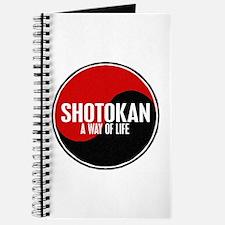 SHOTOKAN Way Of Life Yin Yang Journal