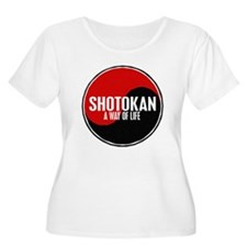 SHOTOKAN Way Of Life Yin Yang T-Shirt