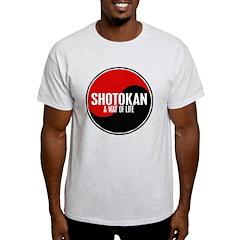 SHOTOKAN Way Of Life Yin Yang T-Shirt