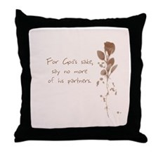 Mr. Bennet 3 of 3 Throw Pillow