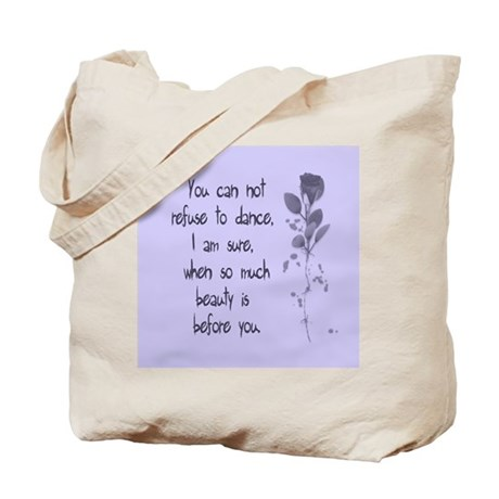 Refuse To Dance Tote Bag