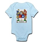 Larionov Family Crest Infant Creeper