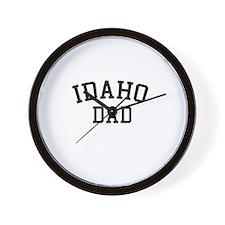 Idaho Dad Wall Clock