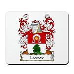 Lavrov Family Crest Mousepad