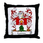 Lavrov Family Crest Throw Pillow