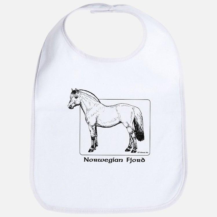 Norwegian Fjord Horse Bib