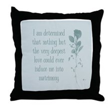 Induce Matrimony Throw Pillow