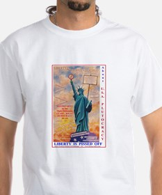 LIBERTY PISSED OFF @ US PLUTOCRACY Shirt