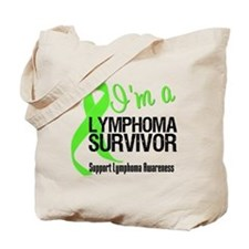 I'm a Lymphoma Survivor Tote Bag