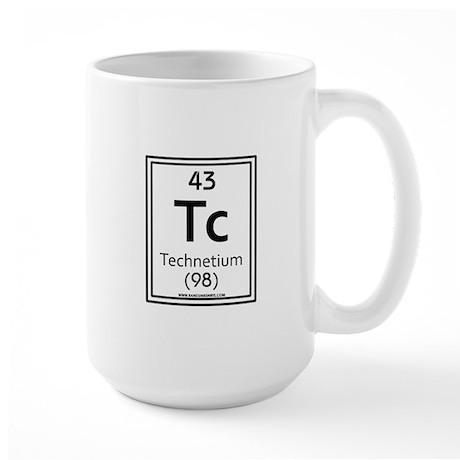 Technetium Large Mug