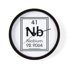 Niobium Wall Clock
