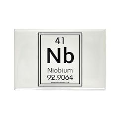 Niobium Rectangle Magnet
