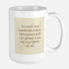 Not Handsome Enough Mug