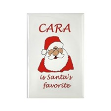 Cara Christmas Rectangle Magnet (100 pack)