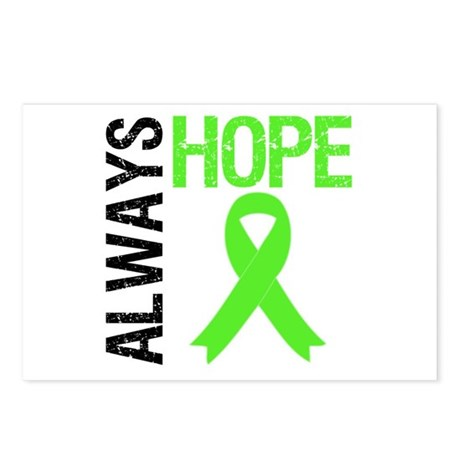 Lymphoma Always Hope Postcards (Package of 8)