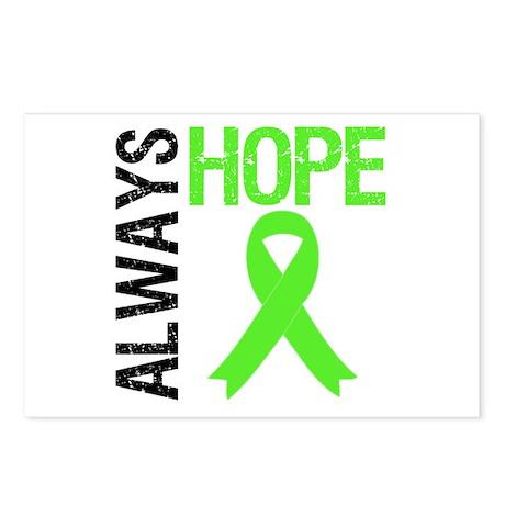 Lymphoma Always Hope Postcards (Package of 8)