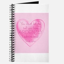 Ardently Admire Journal