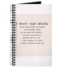 I Never Read Novels Journal