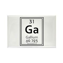 Gallium Rectangle Magnet (10 pack)